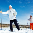 Stockfoto: Skiing