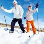 Winter sport — Zdjęcie stockowe