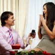 Stock Photo: Engagement