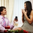 Stock Photo: Proposal of engagement