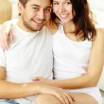 Cheerful couple — Stock Photo #10734894