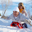 Winter happiness — Stock Photo #10734911