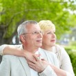 Serene couple — Stock Photo