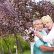 Stock Photo: Amorous couple
