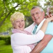 Joyful seniors — Stock Photo