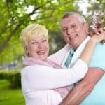 Joyful seniors — Stock Photo