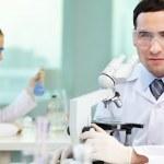 Confident clinician — Stock Photo