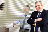 Boss in office — Stock Photo
