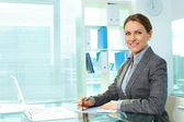 Business workplace — Stock Photo