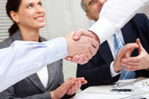 Gesture of success — Stock Photo
