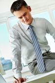 Framgångsrik arbetsgivare — Stockfoto