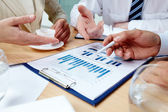 Business discussion — Stock Photo