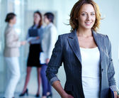 Charming businesswoman — Foto Stock