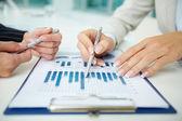 Finansiell analys — Stockfoto
