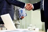 Overeenkomst voor samenwerking — Stockfoto