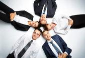Circle of partners — Stock Photo