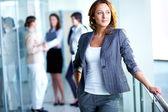 Mulher de negócios inteligente — Foto Stock