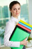 Pretty businesswoman — Stock Photo