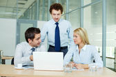 Group working — Stock Photo