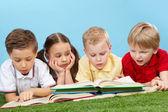 Smart kids — Stock Photo