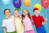 Balloon for everyone — Stock Photo