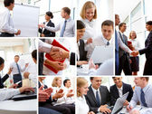 Business environment — Foto de Stock
