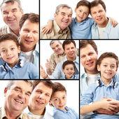 Generazione di uomini — Foto Stock