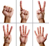 Gestures — Stock Photo