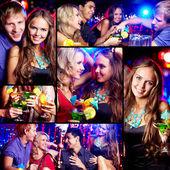 Amigos en fiesta — Foto de Stock