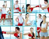 Exercising — Stock Photo
