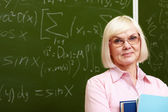 Experienced teacher — Stock Photo