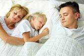Sleeping at home — Stock Photo