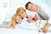 Family resting — Stock Photo