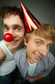 Like clowns — Stock Photo
