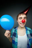 Balloon guy — Stock Photo