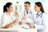 Medical consultation — Stock Photo