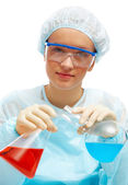 Researcher — Stock Photo