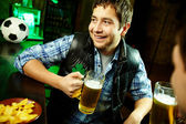 Adam pub — Stok fotoğraf