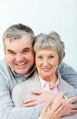 Charming senior couple — Stock Photo
