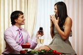 Proposal of engagement — Stock Photo