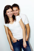 Affectionate couple — Stock Photo