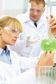 Analyzing reagents — Stock Photo