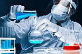 Realizar el experimento — Foto de Stock