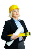 Experienced architect — Stock Photo