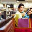 Shoppers at rest — Stock Photo #10745107