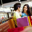 Royalty-Free Stock Photo: Shopping lovers