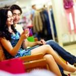 现代科技在购物商场 — 图库照片