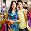 dois no shopping — Foto Stock