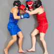 Punch in the face - Stock Photo