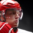 Stock Photo: Hockey-player